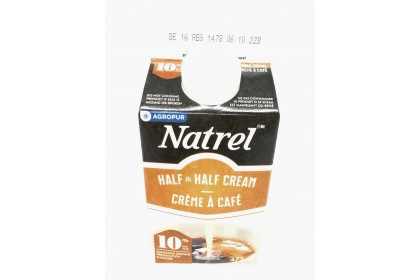 Cream Natrel 10% Half and Half  473ml
