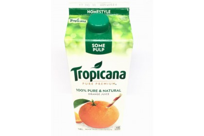 Tropicana Orange Juice Some Pulp