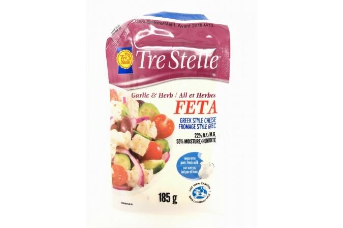 Cheese Feta Garlic n Herb 185g