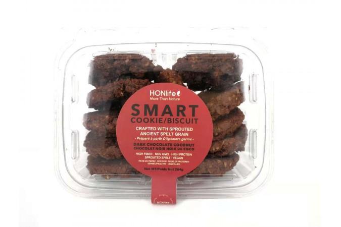 smart cookie  dark chocolate coconut
