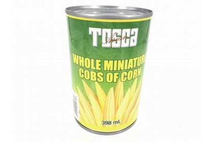 Tosca Whole Cobs of Corn 398ml