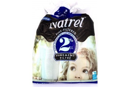 Milk bag 4L Natrel 2% Partly Skimmed