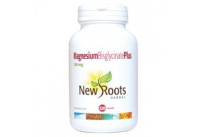 New Roots Magnesium Bisglycinate 120 Capsules
